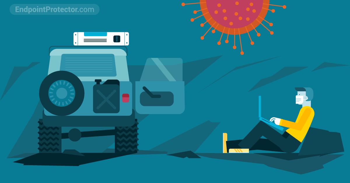 Cómo puede ayudar Endpoint Protector cuando se trabaja de forma remota
